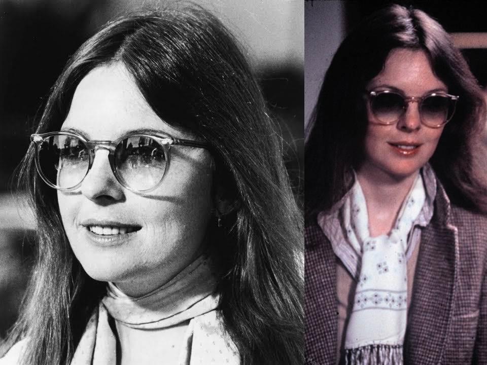 Diane Keaton con gafas de sol